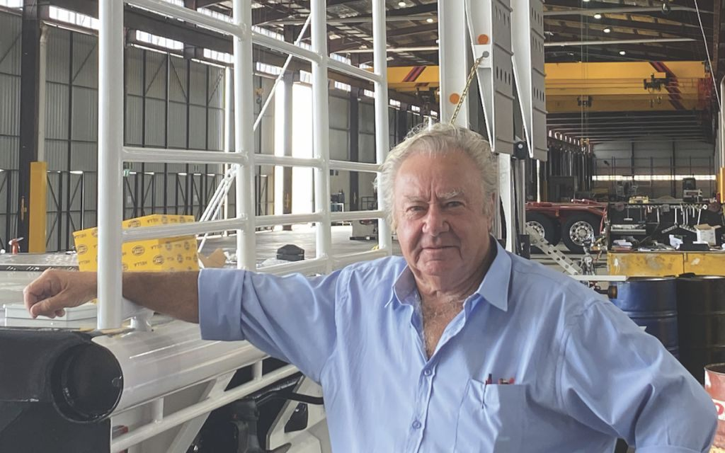 Lionel Moore and a positive change to the design and performance of trucks and trailers